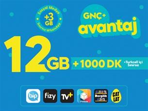 Satın Al GNÇ+ Avantaj 12GB