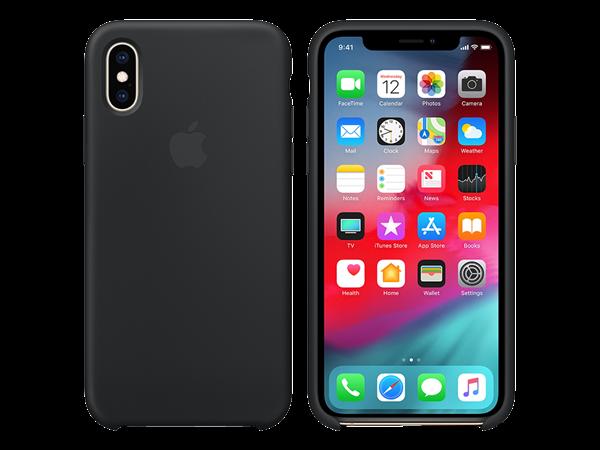 Apple iPhone Xs Silikon Kılıf Siyah