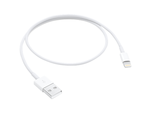 Apple Lightning Şarj ve Data Kablosu (0.5m)