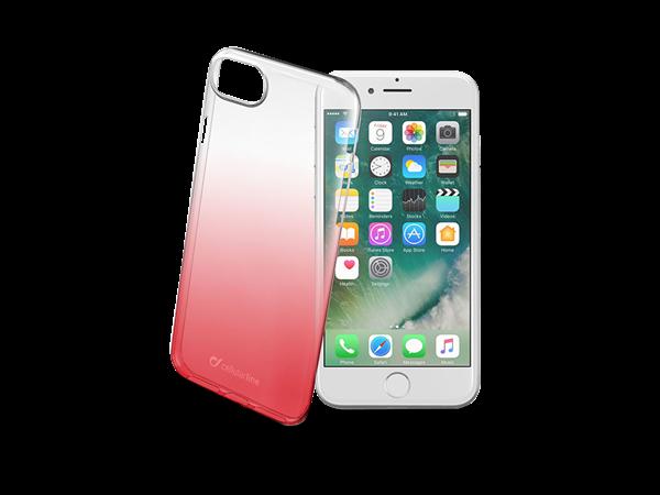 Cellularline iPhone 7/8 Gölgeli Yarı Şeffaf Kılıf
