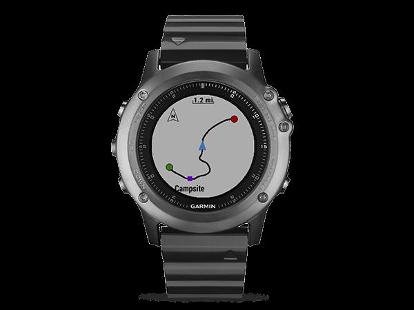 Garmin Fenix 3 Sapphire GPS Çoklu Spor Özellikli Akıllı Saat
