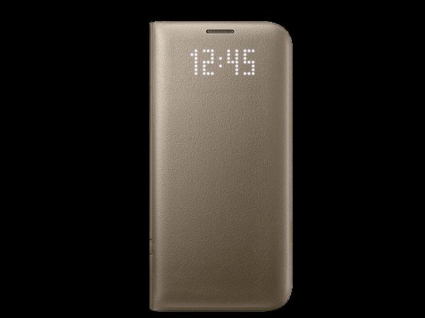 Samsung S7 Edge LED Işıklı Fonksiyonel Kılıf
