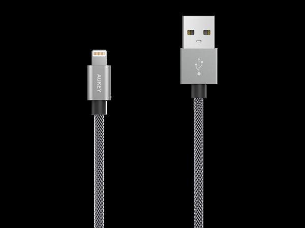 Aukey Lightning Şarj ve Data Kablosu (1.2m)