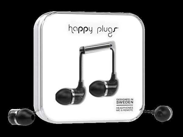 Happy Plugs Deluxe Unik Desenli Kulak İçi Kulaklık