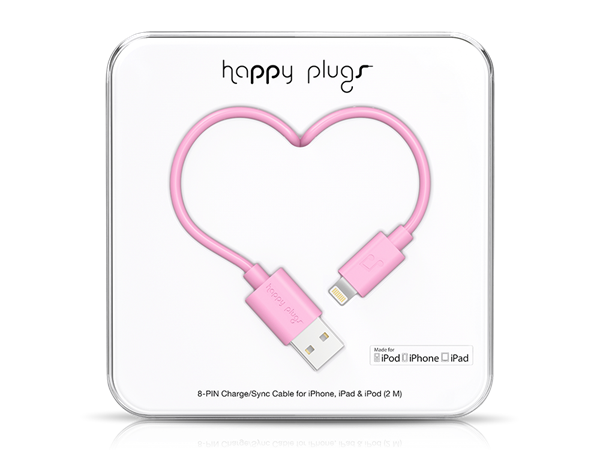 Happy Plugs Lightning Data ve Şarj Kablosu