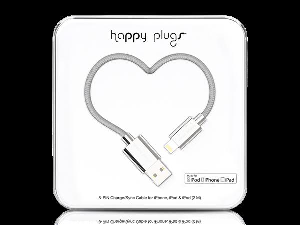 Happy Plugs Deluxe Lightning Data ve Şarj Kablosu