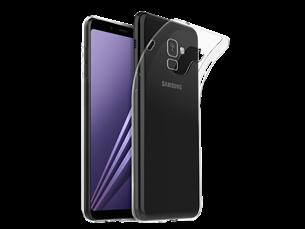 Justech Samsung A8 Şeffaf Koruyucu Kılıf
