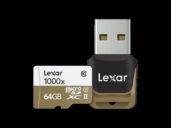 Lexar 1000X Micro SD USB Hafıza Kartı 64 GB