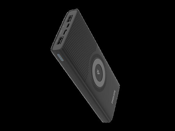 Philips DLP10026 Qi Kablosuz Taşınabilir Şarj Cihazı 10000 mAh