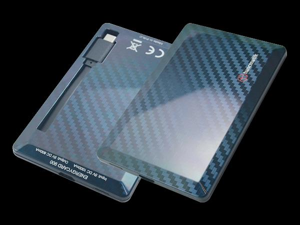 Tuncmatik Energycard Taşınabilir Şarj Cihazı 900 mAh