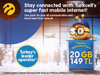Prepaid Karte Internet.Local Sim Card For Your Vacation Turkcell