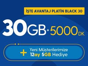 Satın Al İşte Avantaj Platin Black 30