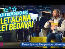 Turkcell'den gençlere efsane sinema kampanyası GNÇ uygulamasında!