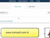 Turkcell İnternet Sitesinden Nasıl Paket Satın Alabiliriz?