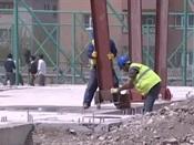 Van'da inşaatlar başladı